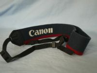 ' ACTUAL MAKERS ' Canon   Blue + Red WIDE SLR Camera Strap £2.49